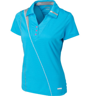 Cutter & Buck Women's Take Aim Short Sleeve Polo