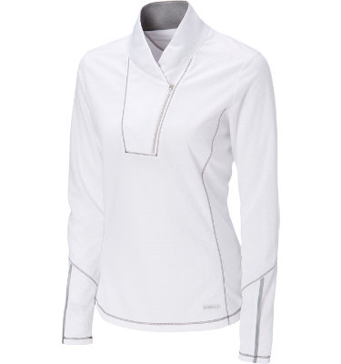 Cutter & Buck Women's Venture Mock Neck Long Sleeve Shirt