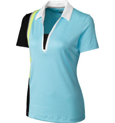 Cutter & Buck Women's Art Gallery Short Sleeve Polo