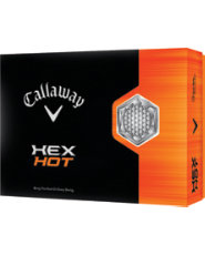 Callaway HEX Hot Golf Balls - 12 pack (Personalized)
