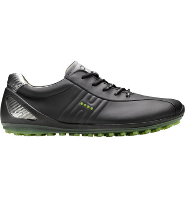ECCO Men's BIOM Zero Golf Shoe - Black/Lime