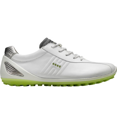 ECCO Men's BIOM Zero Golf Shoe - White/Lime