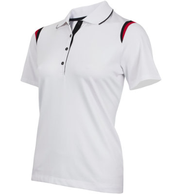 EP Pro Women's Snap Placket Short Sleeve Polo
