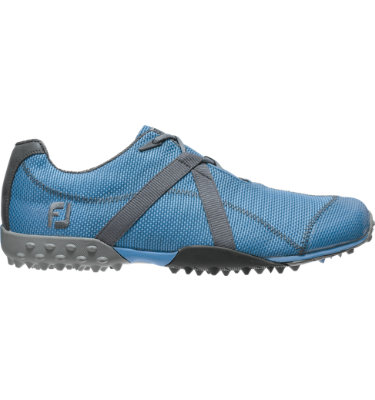FootJoy Men's M:PROJECT Spikeless Mesh Golf Shoe - Blue/Grey (Disc Style 55239)