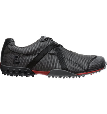 FootJoy Men's M:PROJECT Spikeless Mesh Golf Shoe - Charcoal/Black