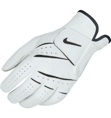 Nike Men's Tour Classic Golf Glove - White/Black