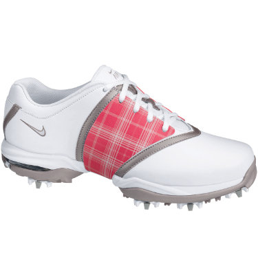 Nike Women's Air Embellish Golf Shoe - White/Metallic Silver/Vapor Mauve
