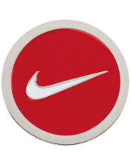 Nike Golf Hat Clip & Ball Marker - Red
