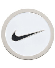 Nike Golf Hat Clip & Ball Marker - White