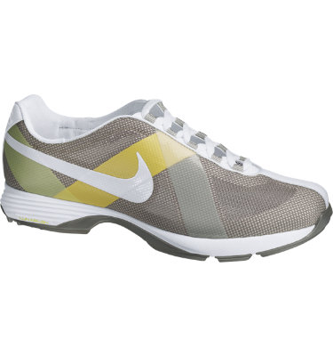 Nike Women's Lunar Summer Lite Golf Shoe - Sport Grey/White/Soft Yellow