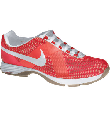 Nike Women's Lunar Summer Lite Golf Shoe - Sunburst/White/Bright Mango