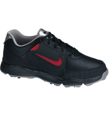 Nike Juniors' Remix II Golf Shoe - Black/Metallic Silver