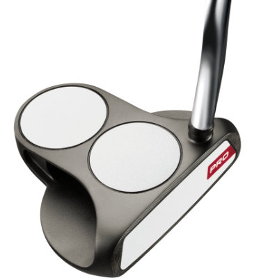 Odyssey Men's White Hot Pro 2-Ball Mid Putter