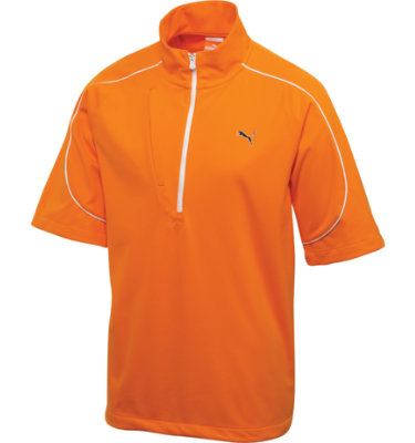 PUMA Men's Knit Wind Short Sleeve Jacket