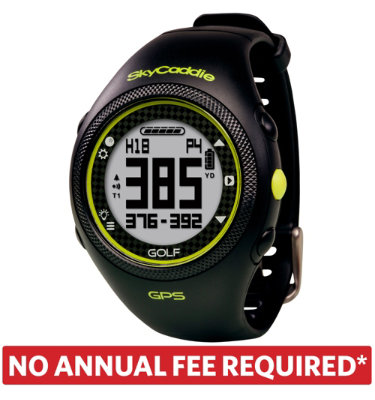 SkyCaddie WATCH Golf GPS Rangefinder - Black