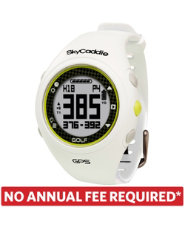 SkyCaddie WATCH Golf GPS Rangefinder - White