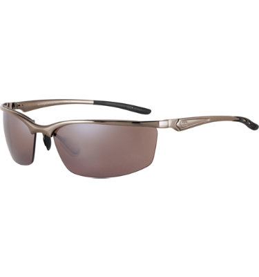 Sundog Men's KP Sunglasses - Dark Brushed Coffee Frame/Brown Lens