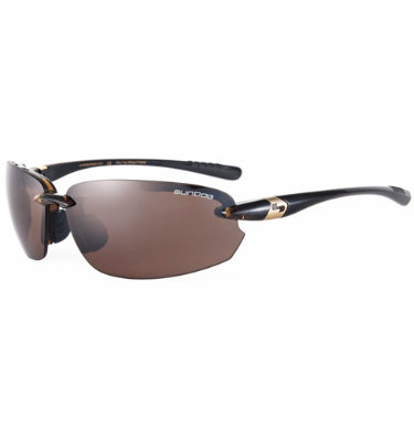 Sundog Men's Laser Sunglasses - Brown Demi Frame/Brown Lens