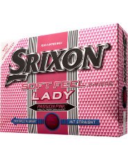 Srixon Soft Feel Lady Golf Balls (Pink) - 12 Pack