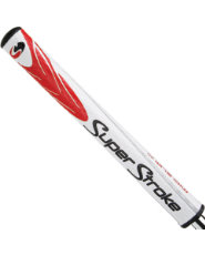 SuperStroke Mid Slim 2.0 Putter Grip - Red/White