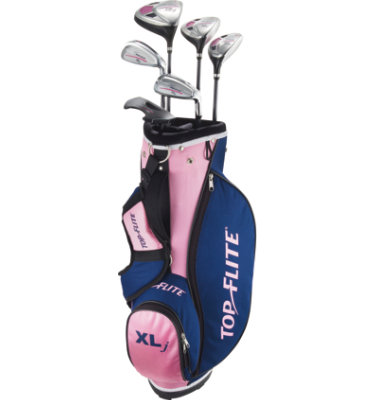 Top Flite Girl's XLj Complete Set (Ages 5 - 8)