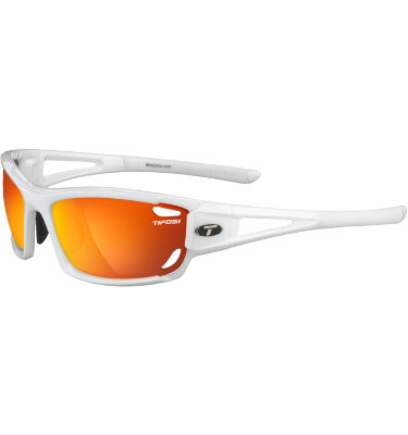 Tifosi Men's Dolomite 2.0 Sunglasses - Pearl White Frame/Interchangeable Lenses