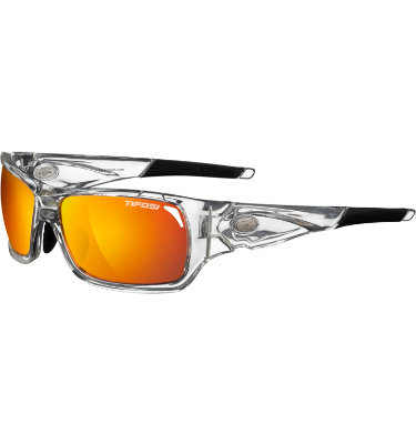 Tifosi Men's Duro Sunglasses - Crystal Clear Frame/Interchangeable Lenses