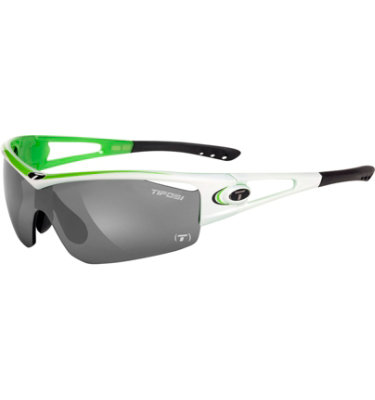 Tifosi Men's Logic Sunglasses - Race Neon Frame/Smoke Lens