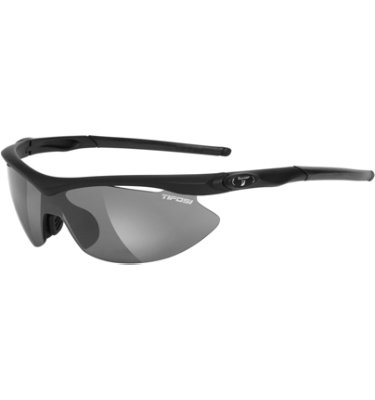 Tifosi Men's Slip Sunglasses - Matte Black Frame/Interchangeable Lenses