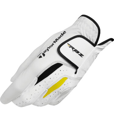 TaylorMade Men's RocketBallz Golf Glove - White/Yellow