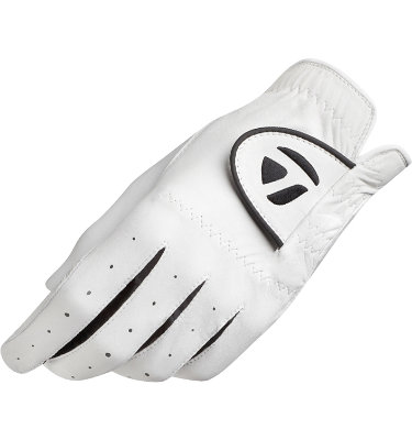 TaylorMade Men's Targa Golf Glove - White/Black