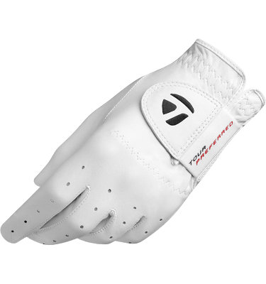 TaylorMade Men's TP Golf Glove - White