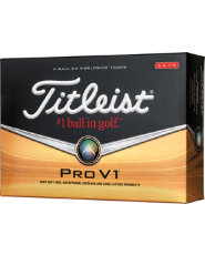 Titleist Pro V1 High Numbers Golf Balls - 12 pack (Personalized)