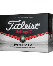 Titleist Pro V1x Golf Balls - 12 pack (Personalized)