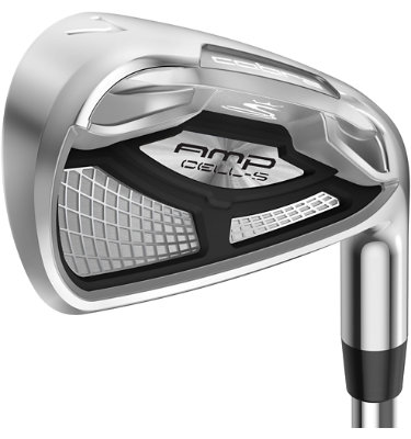 Cobra Men's AMP CELL-S Irons - (Steel) 4-GW