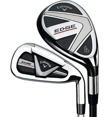 Callaway Men's Edge Hybrid/Irons - (Graphite/Steel) 4-6H, 7-AW