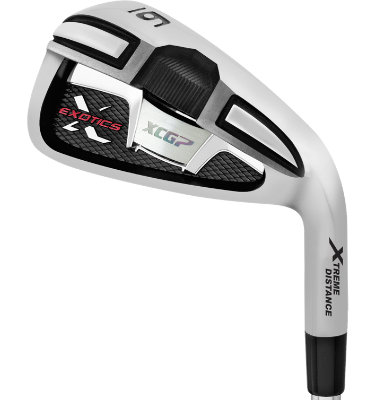 Tour Edge Men's Exotics XCG7 Irons - (Steel) 4-PW