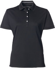 Lady Hagen Short Sleeve Tech Solid Polo