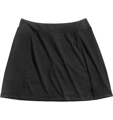 Lady Hagen Solid Knit Skort