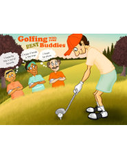 Golfing With Your Best Buddies Card