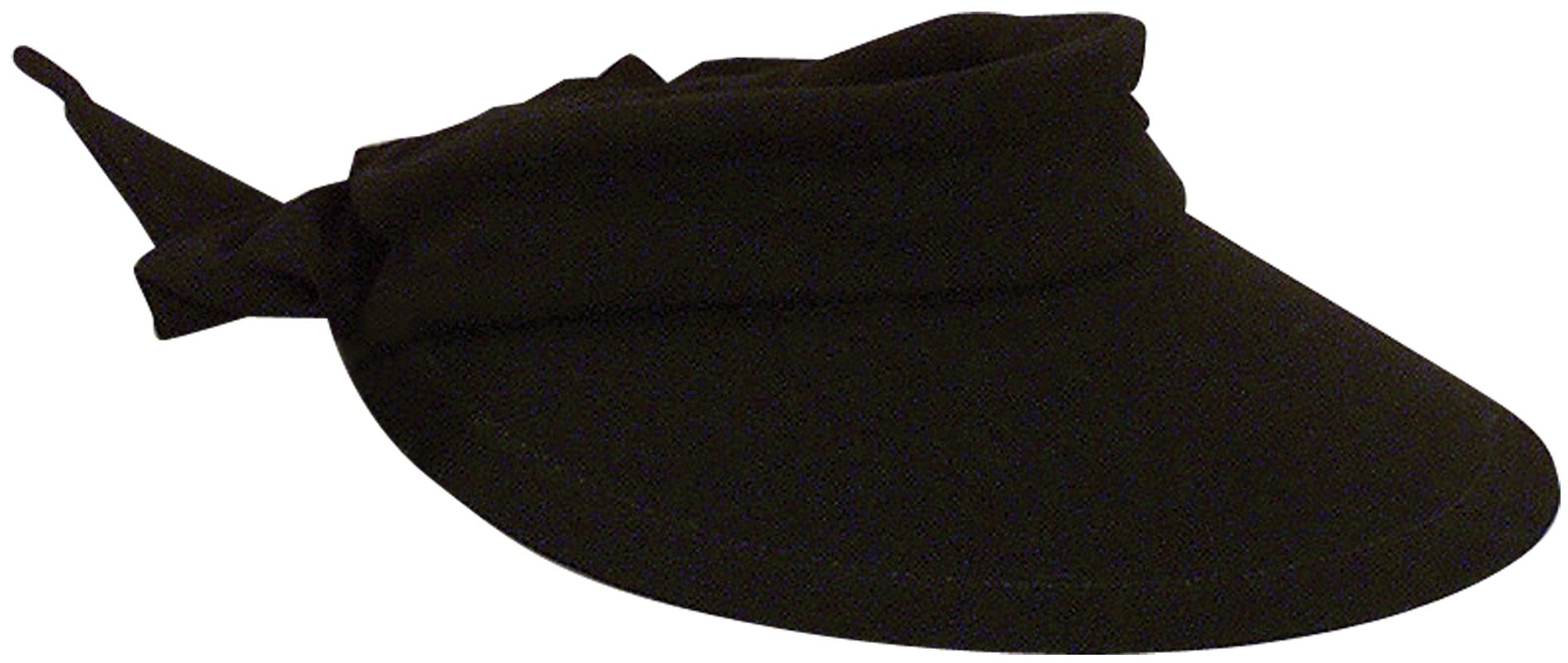 Dorfman Pacific Women's Cotton Visor with Tie Back