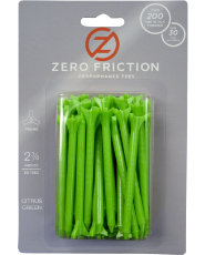 "Zero Friction 2 3/4"" 3-Prong Biocomposite Tees"