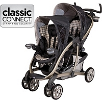 Graco Double Stroller With Car Seat - Seat