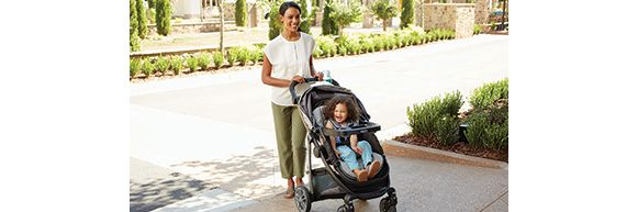 Mom with Graco® Modes™ Stroller