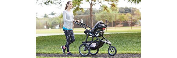 Mom with Graco® RoadMaster™ Jogger