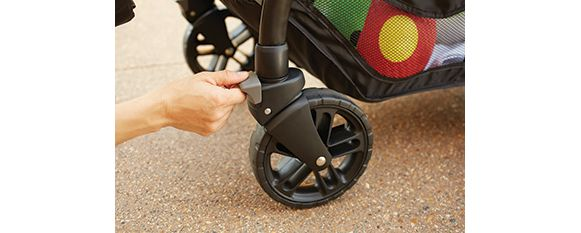 Stroller Wheel Locks