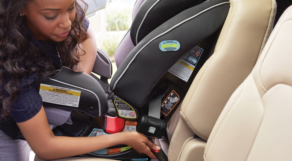 Installing Forward-Facing Car Seat with LATCH