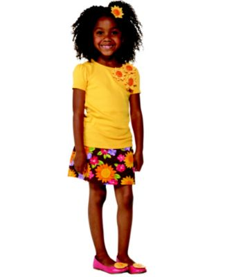 Kid Girl   Sunflower Smiles Back To School 2012