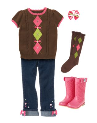 Back To School   Kid Girl Sunflower Smiles Fall 2012 & Capsule Line