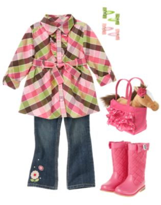 Kid Girl   Horses Capsule Line Back To School 2012